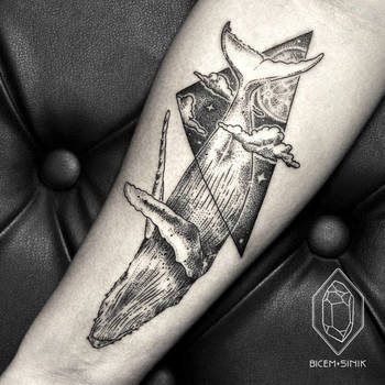 Bicem Sinik is an amazing tattoo artist out of Istanbul who creates beautiful minimalist tattoos usin