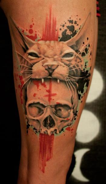 Tatuagem por Jacob Pedersen. Body Art Attack Curta: https://www.facebook.com/BodyArtAttack Acesse: ht