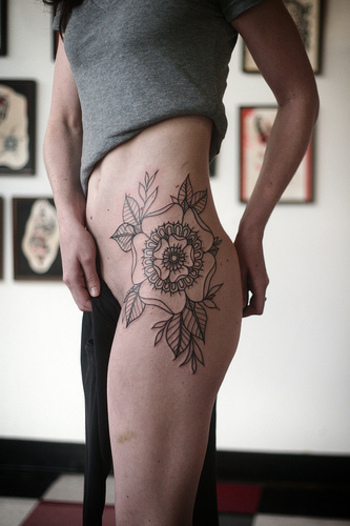 tattoos - Alice Carrier