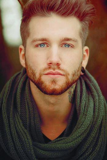 (40) Tumblr man, gorgeous, tattoo, eyes, blue