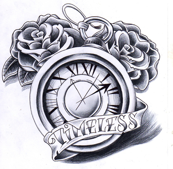 Timeless clock by jerrrroen on deviantART