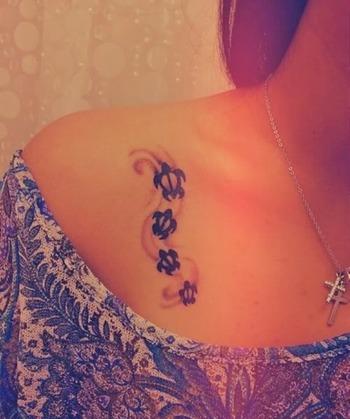 Funny Turtle Tattoo Designs | Funny Tattoos