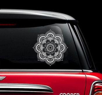 Mandala Car Decal Vinyl Sticker Decals Car Decal Sticker Window Truck Decal Stickers Lotus Flower Car Decal ZX1