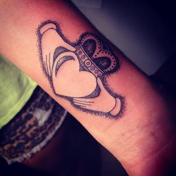 Claddagh tattoo LOVE IT