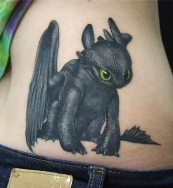 25 Amazing Tattoos Inspired by Children's Movies