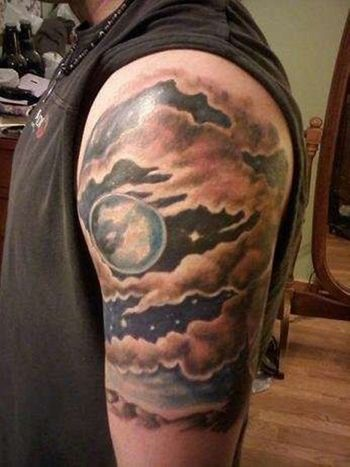 Tons of Glorious Moon Tattoos! | Tattoos Beautiful