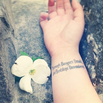 "PorcelainFae on Instagram: ""I just love my tattoo with all ma heart. #labyrinthtattoo #Tattoo #Labyrinth #GoblinKing #astheworldfallsdown"""