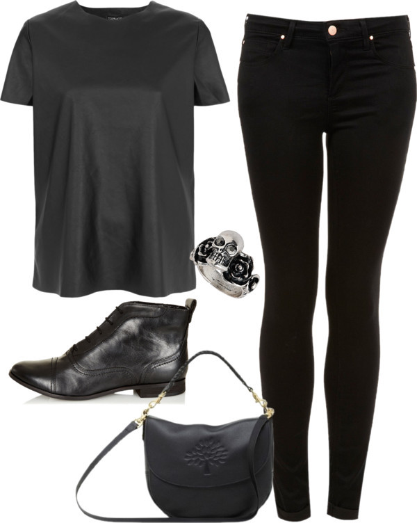 Inspired all black outfit by hayleycarbran liked on polyvore original