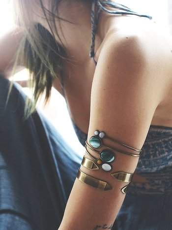 Free People Stone Wrap Armband