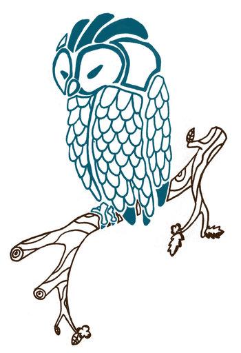 Owl Tattoo by zilfana on deviantART