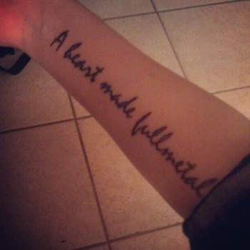 Love it! But I don't think I'd get a tattoo of it... or a tattoo at all LOL