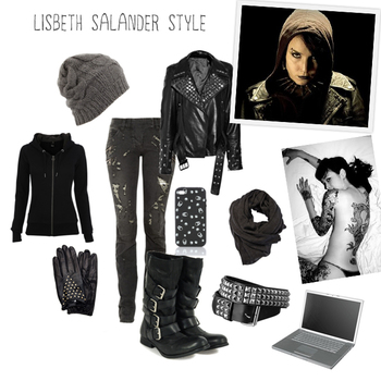 Girl With the Dragon Tattoo Series: Lisbeth Salander Style