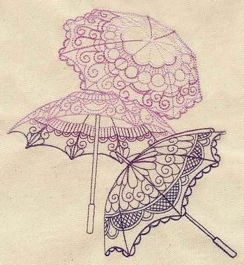 Delicate Parasols