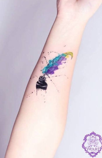 65+ Examples of Watercolor Tattoo   Cuded