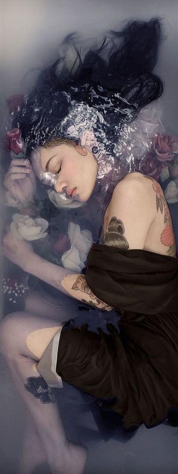 Tattoo Lust: Tattooed Dames X