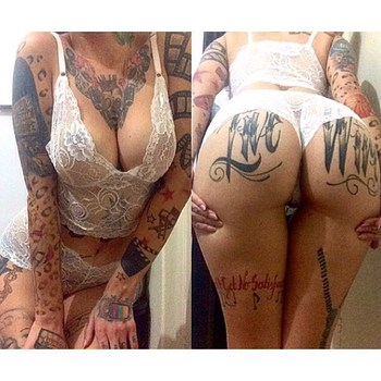 Just the Dopest Tattoos on Butts - By Any Other Name | Memes