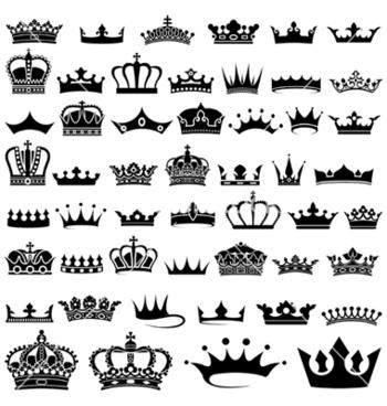 Royal crown vector art - Download  vectors - 1301335