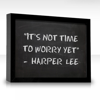 My new favorite quote! Because I am a worry wart haha