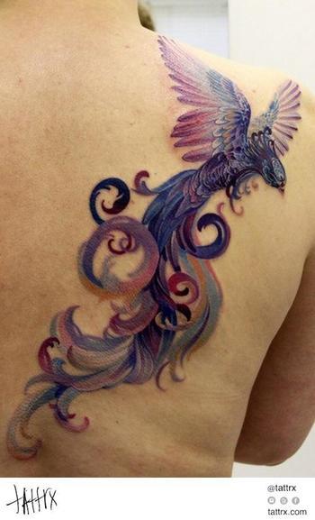 Anna Belozyorova - Purple Phoenix
