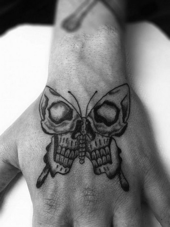 100 Small Hand Tattoos for Men and Women - Piercings Models