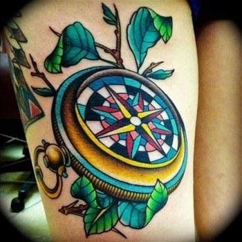Travel Tattoos (42 Photos) - Funsterz.com - Amazing Videos, Amazing Funny Pictures, Crazy Videos, Funny Photos