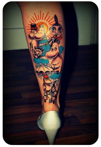 kurotokage: Moomin tattoo...