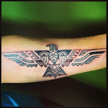 60 amazing native American feather tattoos