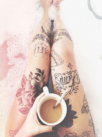 I want these legs <3 tattoo /