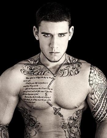 best tattoos, full body guy tattoo - Dump A Day