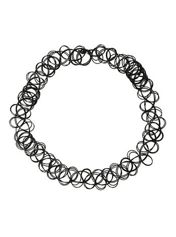Basic Black Tattoo Stretch Choker | Hot Topic