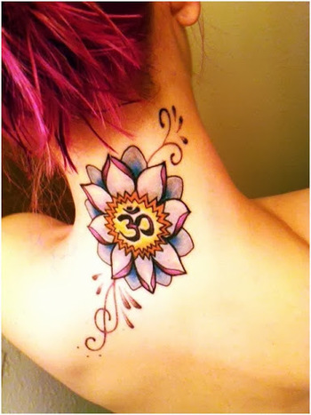 50 Amazing And Beautiful Om Tattoo | Tech2Gadget