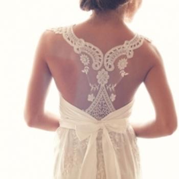 24 Racerback Wedding Dresses