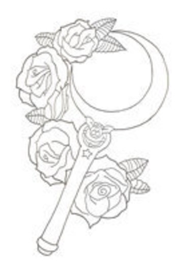 sailor moon tattoo design - Google Search