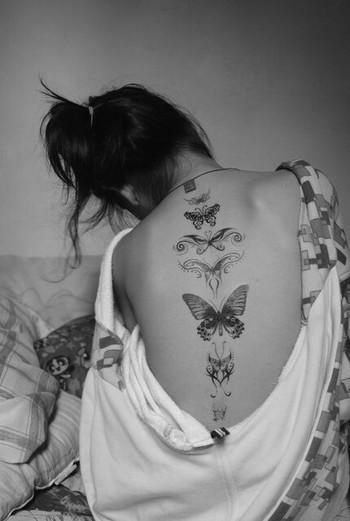 Butterfly tattoos - 2014 sera l'année de mon prochain Tattoo! Un papillon...