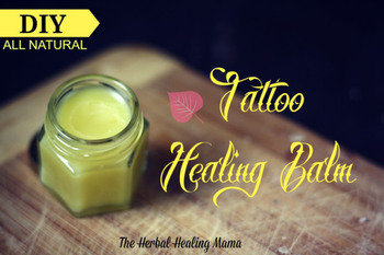 Tattoo Balm - DIY All Natural Healing.