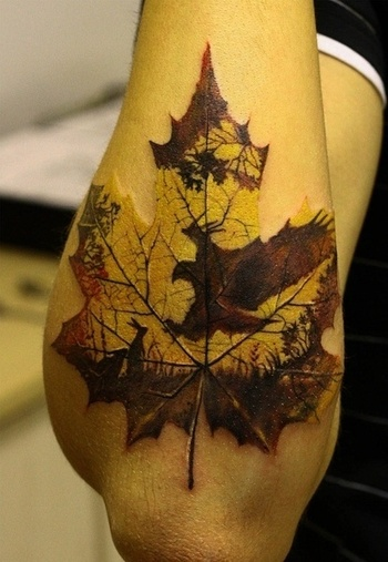 Washington. Ok this tattoo is awesome! And if you look close you'll see an eagle swooping to attack a