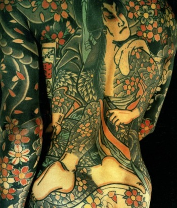 Bravery Here Horiyoshi III depicts another tattooed hero from the Suikoden, the famous Chinese novel