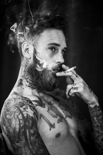 Tattoo Lust: Beards & Tattoos IX