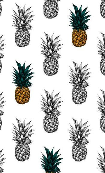 Pineapple Art Print by Eloise Roberts | Society6
