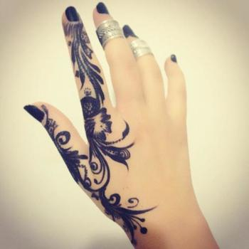 Really big fan of this one and it looks awsome with the black nails
