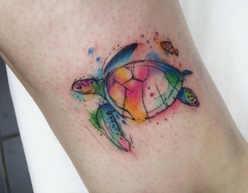 We Love Watercolor Animal Tattoos | Tattoodo.com