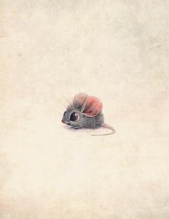 Mouse Art Print by Sydwiki | Society6
