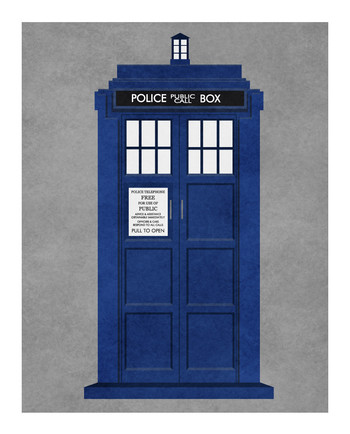 Finally finished my vector (not minimalist ;)) tribute to all eleven Doctors and the TARDIS! - Imgur