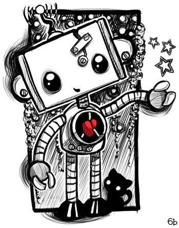 Community Post: 50 Amazing Piece Of Robot Artwork (Part II)