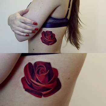Artist Creates Geometric Tattoos Fit for the Canvas