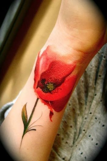 20 Watercolor tattoos - Tattoodo.com