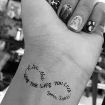 45 Tattoo Quote Ideas for Women - Pretty Designs