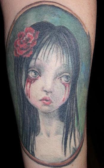 Mark Ryden tattoo