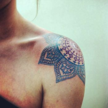 mandala tattoo shoulder - Google Search