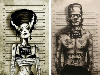 Halloween Tattoo style | tattoos picture halloween tattoos